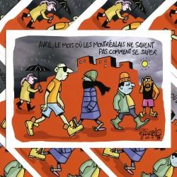 ELDIABLO – CARTE POSTALE AVRIL