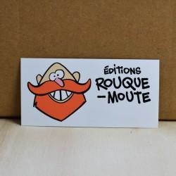Sticker Rouquemoute n°1 - 8...