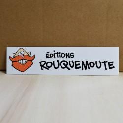 Sticker Rouquemoute n°2 -...